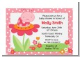 Modern Ladybug Pink - Birthday Party Petite Invitations thumbnail