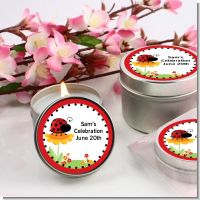 Modern Ladybug Red - Birthday Party Candle Favors