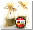 Modern Ladybug Red - Baby Shower Gold Tin Candle Favors thumbnail