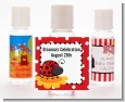 Modern Ladybug Red - Personalized Birthday Party Hand Sanitizers Favors thumbnail
