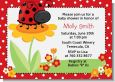Modern Ladybug Red - Baby Shower Invitations thumbnail