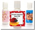 Modern Ladybug Red - Personalized Birthday Party Lotion Favors thumbnail