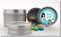 Modern Mommy Crib It's A Boy - Custom Baby Shower Favor Tins