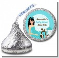 Modern Mommy Crib It's A Boy - Hershey Kiss Baby Shower Sticker Labels thumbnail