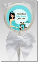 Modern Mommy Crib It's A Boy - Personalized Baby Shower Lollipop Favors