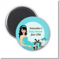 Modern Mommy Crib It's A Boy - Personalized Baby Shower Magnet Favors