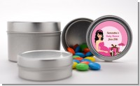 Modern Mommy Crib It's A Girl - Custom Baby Shower Favor Tins
