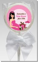 Modern Mommy Crib It's A Girl - Personalized Baby Shower Lollipop Favors