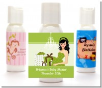 Modern Mommy Crib Neutral - Personalized Baby Shower Lotion Favors