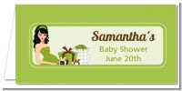 Modern Mommy Crib Neutral - Personalized Baby Shower Place Cards