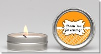 Modern Thatch Orange - Candle Favors