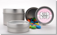 Modern Thatch Pink - Custom Favor Tins