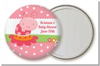 Modern Ladybug Pink - Personalized Birthday Party Pocket Mirror Favors