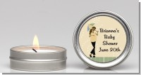 Mod Mom African American - Baby Shower Candle Favors