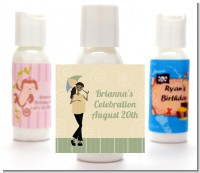 Mod Mom African American - Personalized Baby Shower Lotion Favors