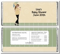 Mod Mom - Personalized Baby Shower Candy Bar Wrappers
