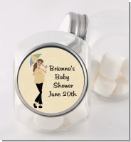 Mod Mom - Personalized Baby Shower Candy Jar