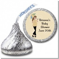 Mod Mom - Hershey Kiss Baby Shower Sticker Labels