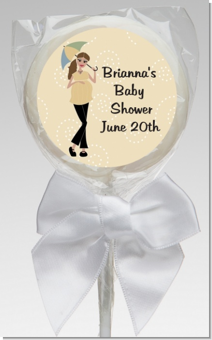 Mod Mom - Personalized Baby Shower Lollipop Favors