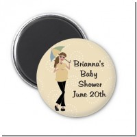Mod Mom - Personalized Baby Shower Magnet Favors