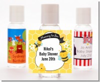 Mommy To Bee - Personalized Baby Shower Hand Sanitizers Favors