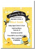 Mommy To Bee - Baby Shower Petite Invitations