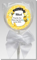 Mommy To Bee - Personalized Baby Shower Lollipop Favors