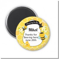 Mommy To Bee - Personalized Baby Shower Magnet Favors