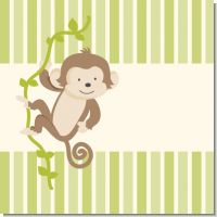 Monkey Neutral Baby Shower Theme