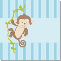 Monkey Boy Baby Shower Theme