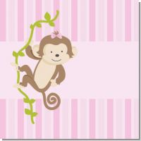Monkey Girl Birthday Party Theme