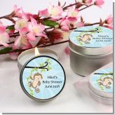 Monkey Boy - Baby Shower Candle Favors