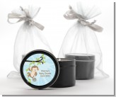 Monkey Boy - Birthday Party Black Candle Tin Favors