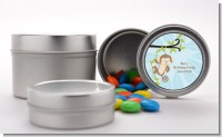 Monkey Boy - Custom Baby Shower Favor Tins