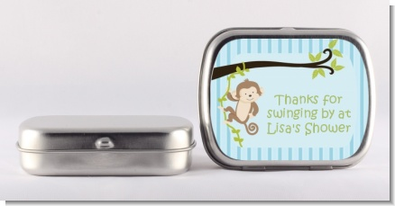 Monkey Boy - Personalized Baby Shower Mint Tins