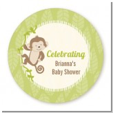 Monkey Neutral - Personalized Baby Shower Table Confetti