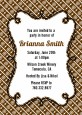 Modern Thatch Brown - Personalized Everyday Party Invitations thumbnail