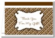 Modern Thatch Brown - Personalized Everyday Party Thank You Cards thumbnail