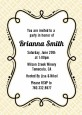 Modern Thatch Cream - Personalized Everyday Party Invitations thumbnail