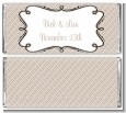 Modern Thatch Latte - Personalized Everyday Party Candy Bar Wrappers thumbnail