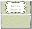 Modern Thatch Olive - Personalized Everyday Party Candy Bar Wrappers thumbnail
