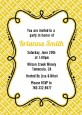 Modern Thatch Yellow - Personalized Everyday Party Invitations thumbnail