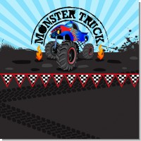 Monster Truck Birthday Party Theme