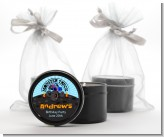 Monster Truck - Birthday Party Black Candle Tin Favors