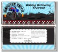 Monster Truck - Personalized Birthday Party Candy Bar Wrappers thumbnail