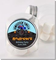 Monster Truck - Personalized Birthday Party Candy Jar