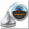 Monster Truck - Hershey Kiss Birthday Party Sticker Labels thumbnail