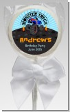 Monster Truck - Personalized Birthday Party Lollipop Favors