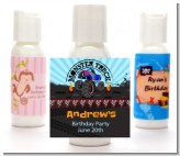 Monster Truck - Personalized Birthday Party Lotion Favors