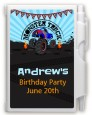Monster Truck - Birthday Party Personalized Notebook Favor thumbnail